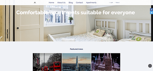 Property rental website